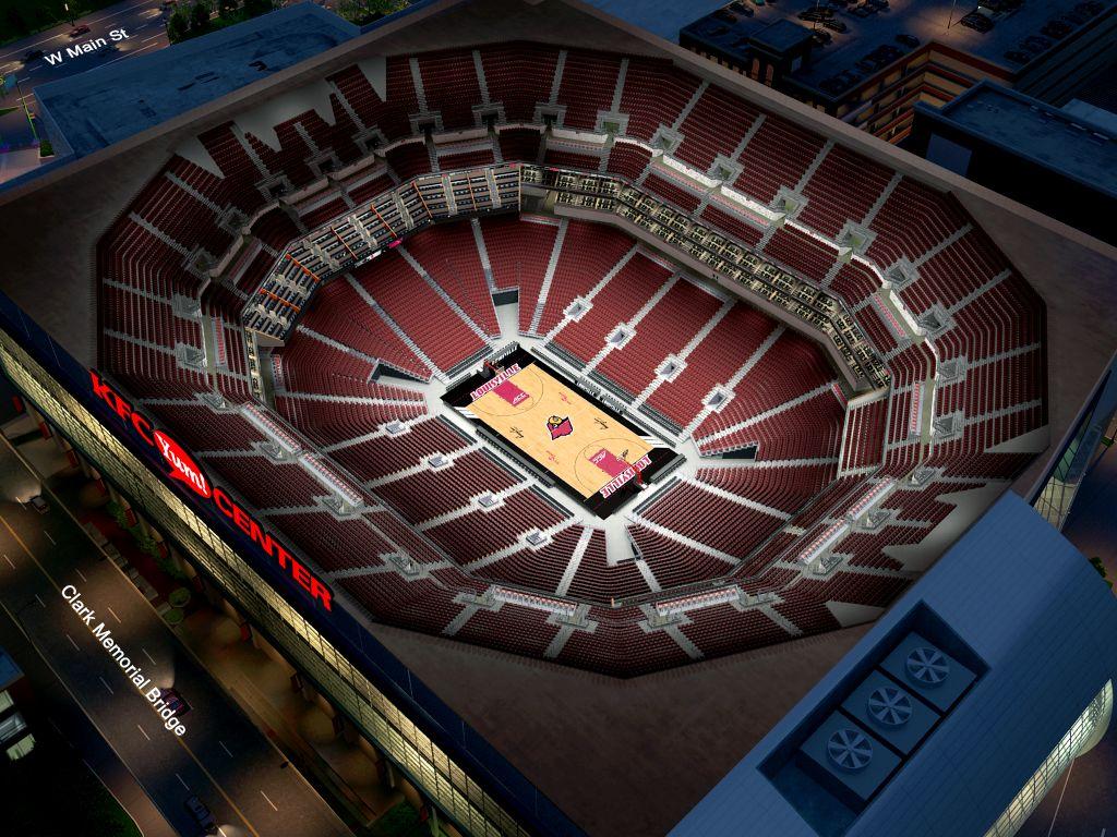 Louisville Basketball Virtual Venue™ by IOMEDIA on bill graham civic center, kentucky international convention center, kentucky exposition center, scottrade center,